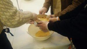 1000円の和三盆干菓子作り体験の写真1