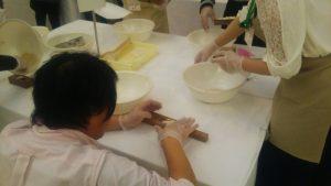 1000円の和三盆干菓子体験の写真2