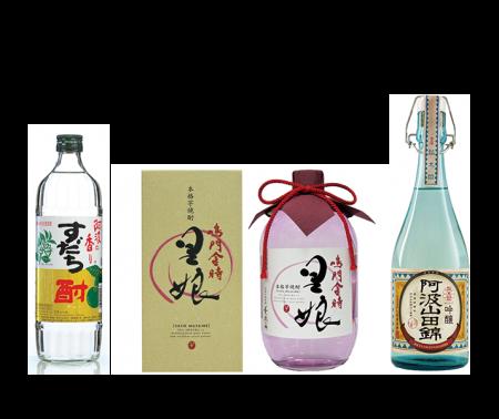 日新酒類の人気のラインナップ