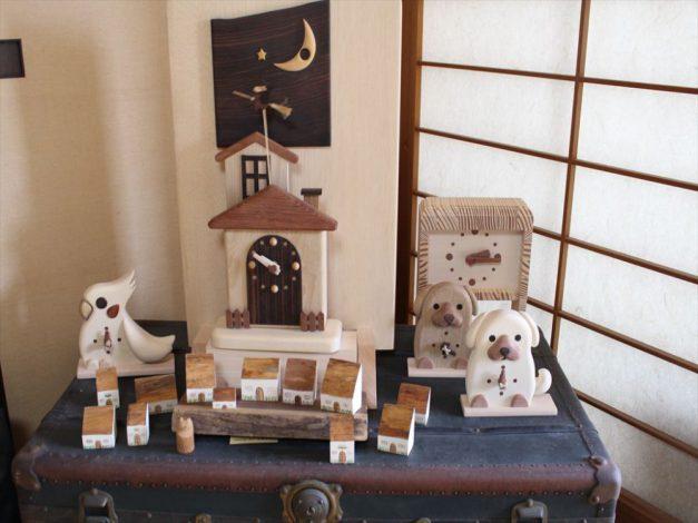 ギャラリー木兎の木の時計たちの写真