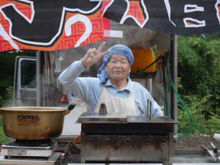 「松尾餃子店」店主の松尾さん