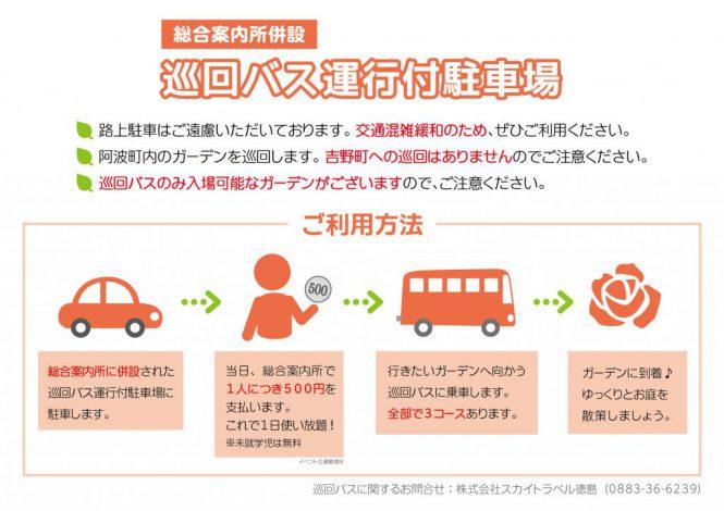 巡回バス利用方法についての画像